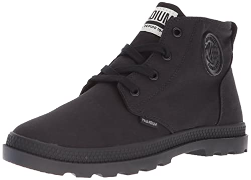 Palladium Women's Pampa Free CVS Ankle Boot, Black, 6.5 Medium US