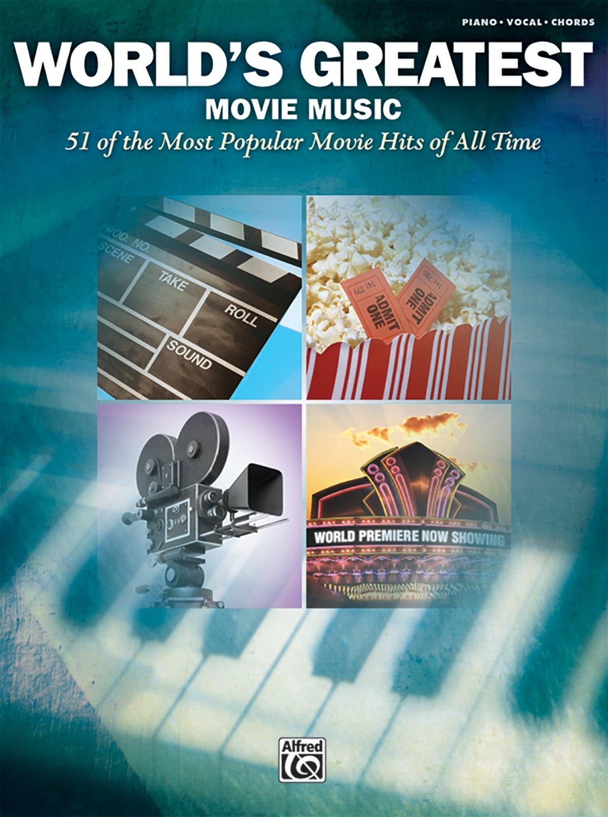 Worlds greatest movie music pianovocalchords alfred music worlds greatest movie music pianovocalchords alfred music 9780739062357 amazon books hexwebz Images