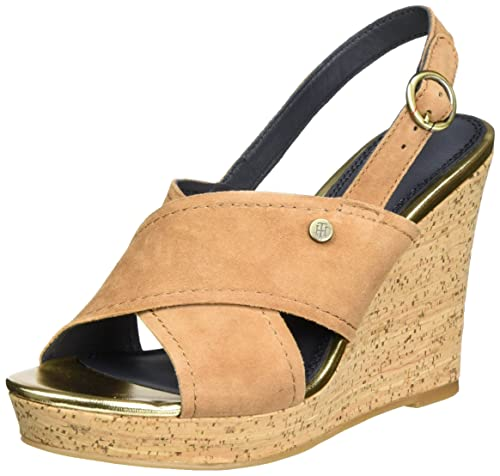 943d0c039 Tommy Hilfiger Women s E1285del 6b Heeled Shoes with a Strap Around The  Ankle