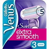 Gillette 7702018401239 hojilla de afeitar - hojillas de afeitar (Mujeres, Gillette, Venus Swirl, Violeta)