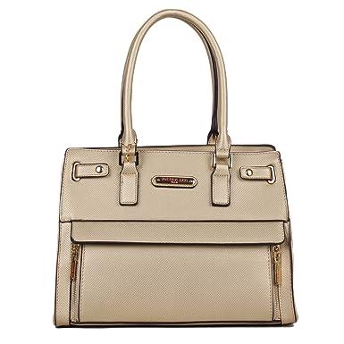 Nicole Lee Women s Ciel Large Satchel Smart Lunch Bag (Gold) Travel Shoulder,  One 5c6062c8ee