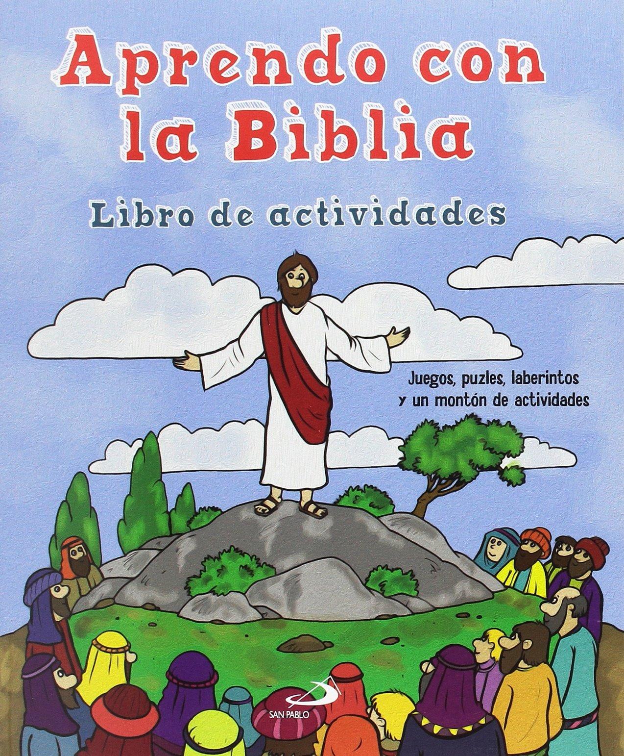 5db08bc02 Aprendo con la Biblia  Libro de actividades Pequelibros bíblicos  Amazon.es   Helen Otway