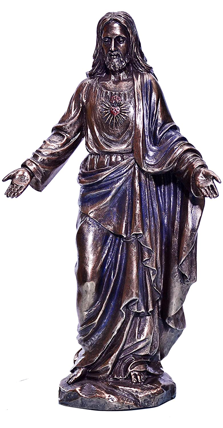 Buy Brk Handicraft Large Christ Standing Statues Christian Sculpture Home Decor 9 Inches Bronze Online At Low Prices In India Amazon In