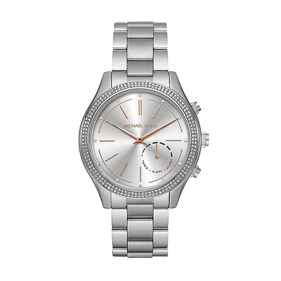 Michael Kors Reloj Analogico para Mujer de Cuarzo con Correa en Acero Inoxidable MKT4004