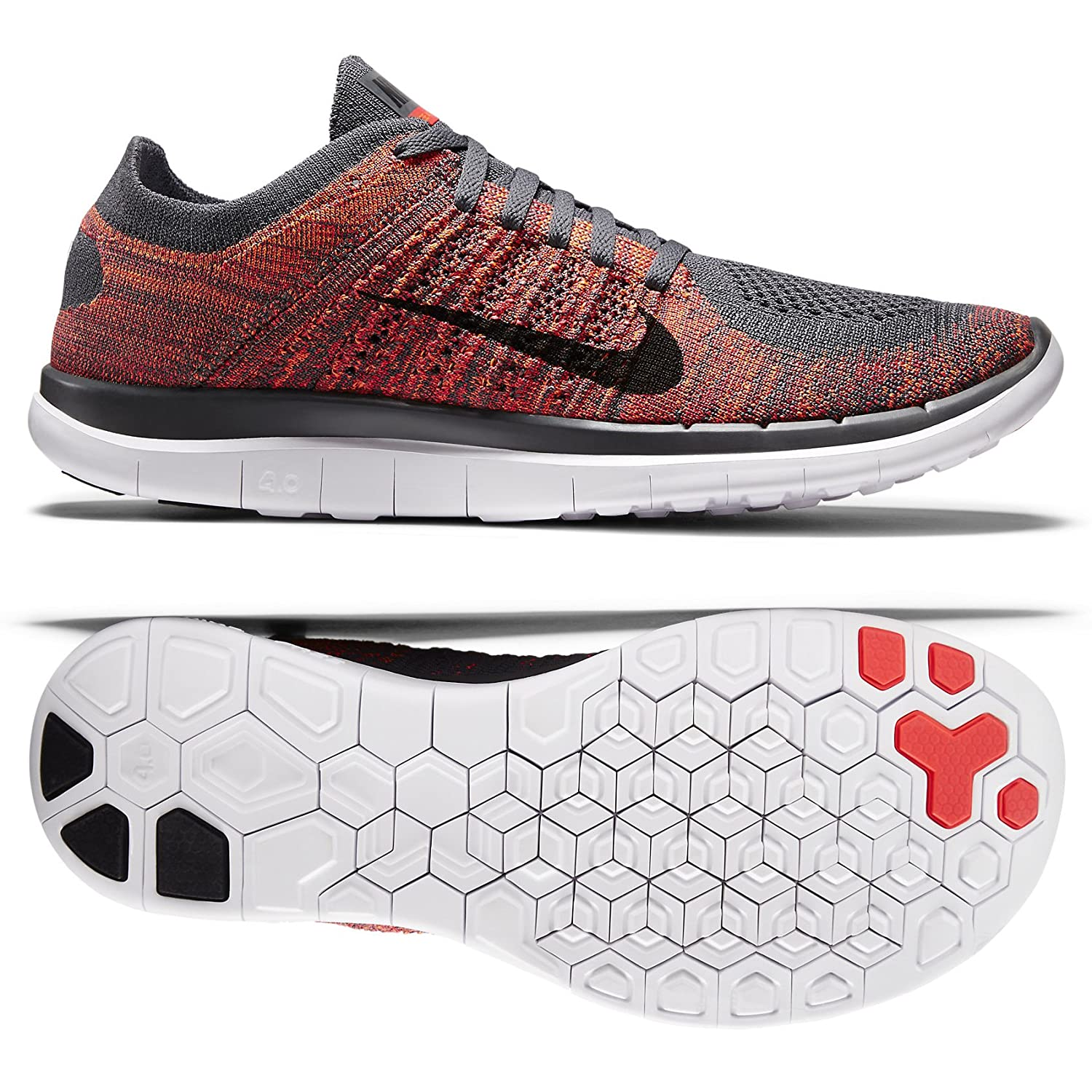 on sale b96be ed537 discount code for nike free run 4.0 mens flyknit grey 7d804 73fd4