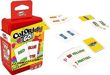 Juego de cartas Shuffle Color Addict, , color/modelo surtido: Amazon.es: Juguetes y juegos
