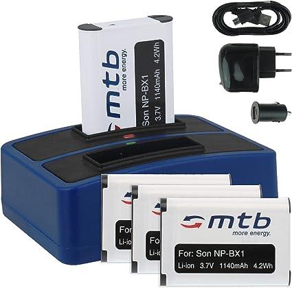 Akku NP BX1 für Sony Actioncam HDR AS50 Ladegerät