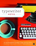 Typewriter Notes: 20 Different Cards & Envelopes (Thank You Cards Typewriter, Blank Notecards)