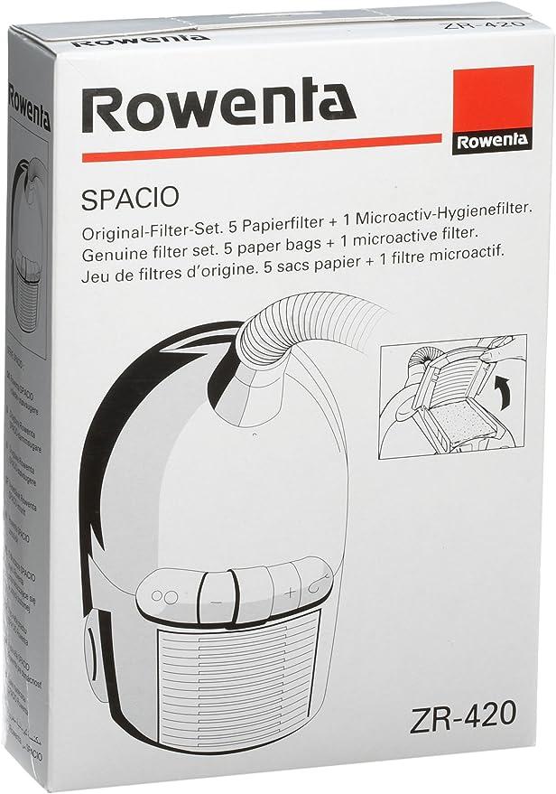 R6 10 Sacs D/'Aspirateur Filtrants pour Rowenta ZR 420 ZR420