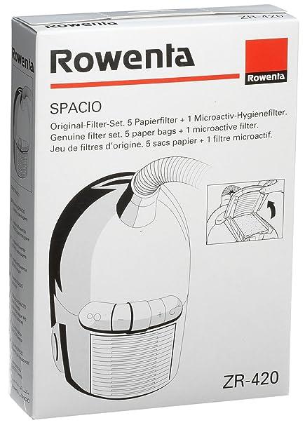 Amazon.com: Rowenta ZR420 Papel Aspiradora Filtros: Kitchen ...