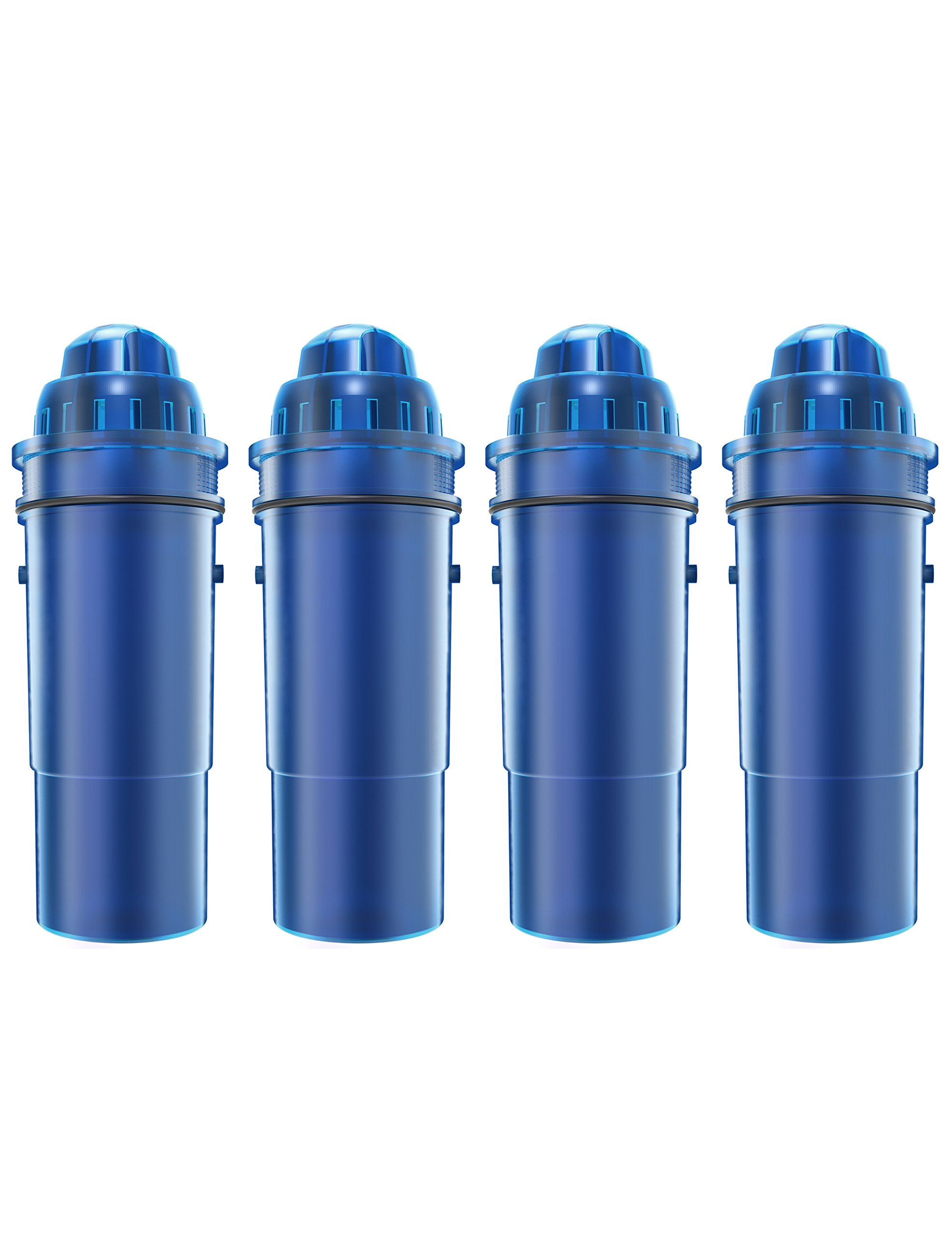 AQUACREST CRF-950Z Replacement Pitcher Water Filter, Compatible with Pur CRF-950Z Pitcher (Pack of 4)