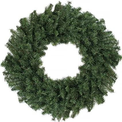 Amazon Com Darice 24 Canadian Pine Artificial Christmas Wreath