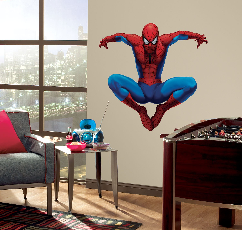 Galleon - RoomMates RMK1078GSCS Amazing Spiderman Stick ...