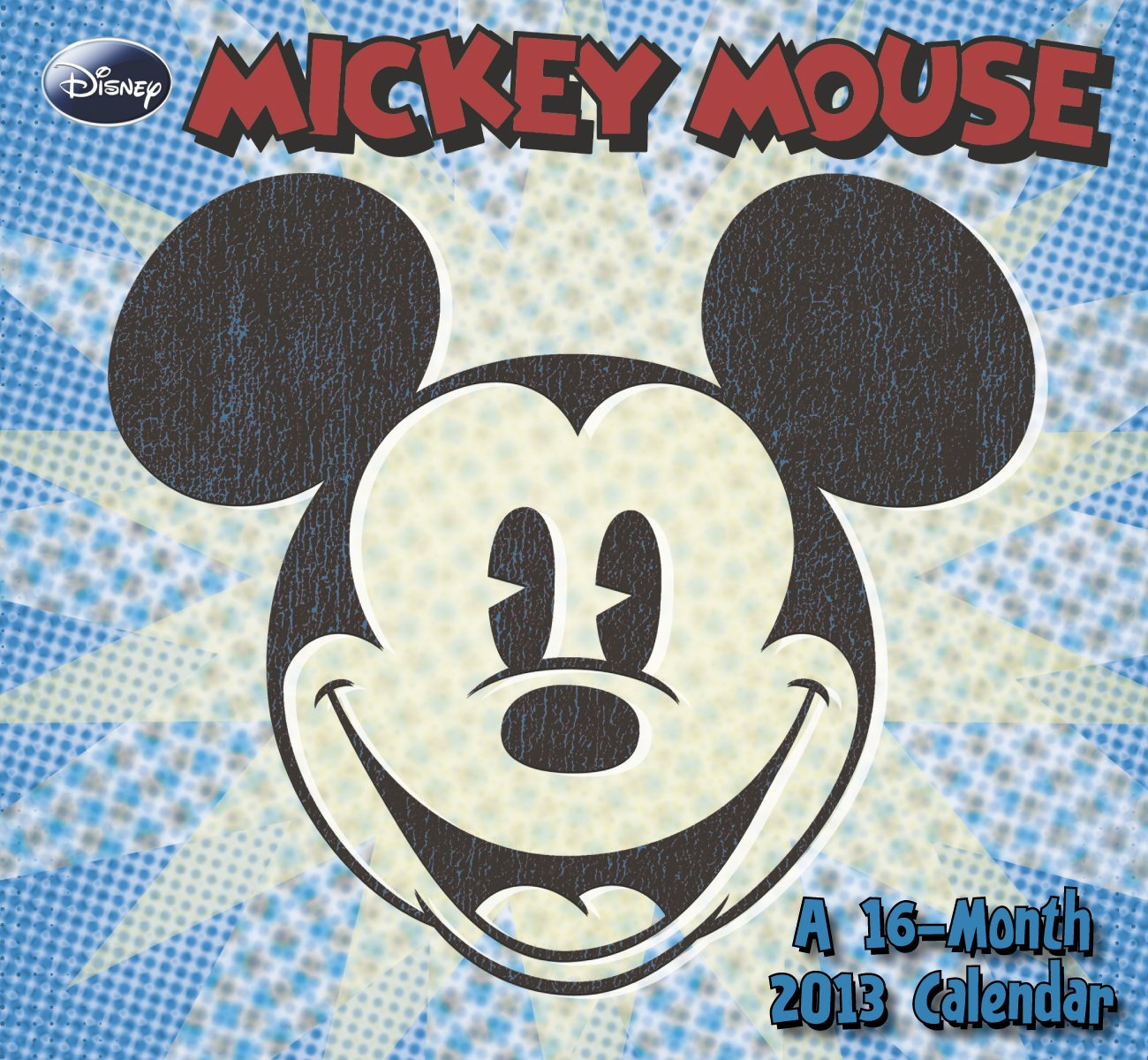 2013 Classic Mickey Mouse Mini Wall Calendar