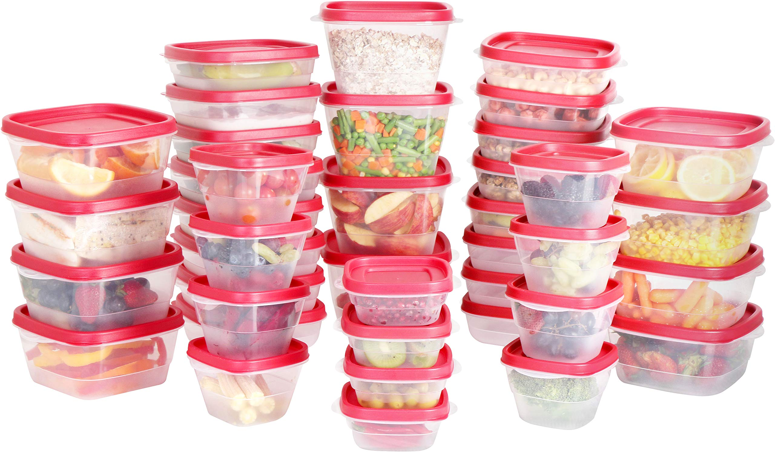 Utopia Kitchen Plastic Food Storage Containers with Lids [40 Pack] by Utopia Kitchen (Image #2)