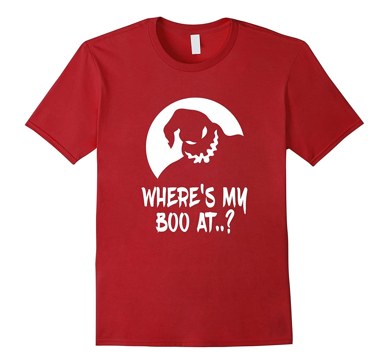 Wheres My Boo At? Shirt Funny Halloween T-Shirt-RT
