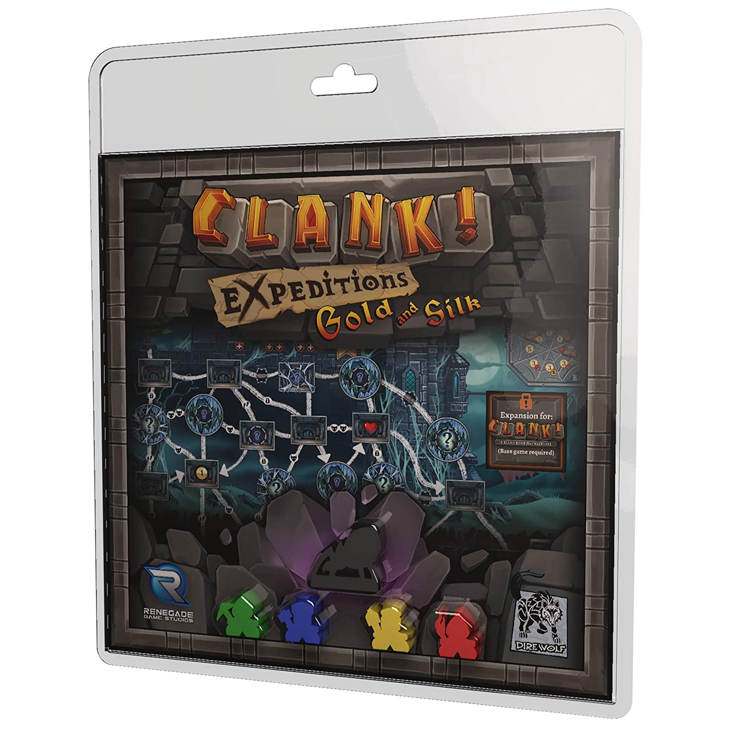 Renegade Game Studios RGS00841 Clank Expeditions: Gold & Silk, Mehrfarbig Pegasus Spiele 0552RGS