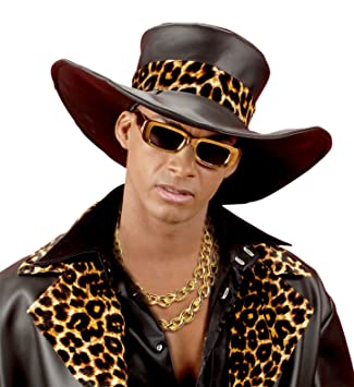 Goldketten rapper  Panelize ® Gangster Rapper Zuhälter Lude Macho Goldkette 120cm ...