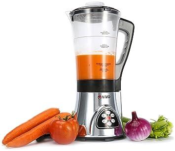 vivo fresh soup maker machine smoothie maker with blender pulse cooker