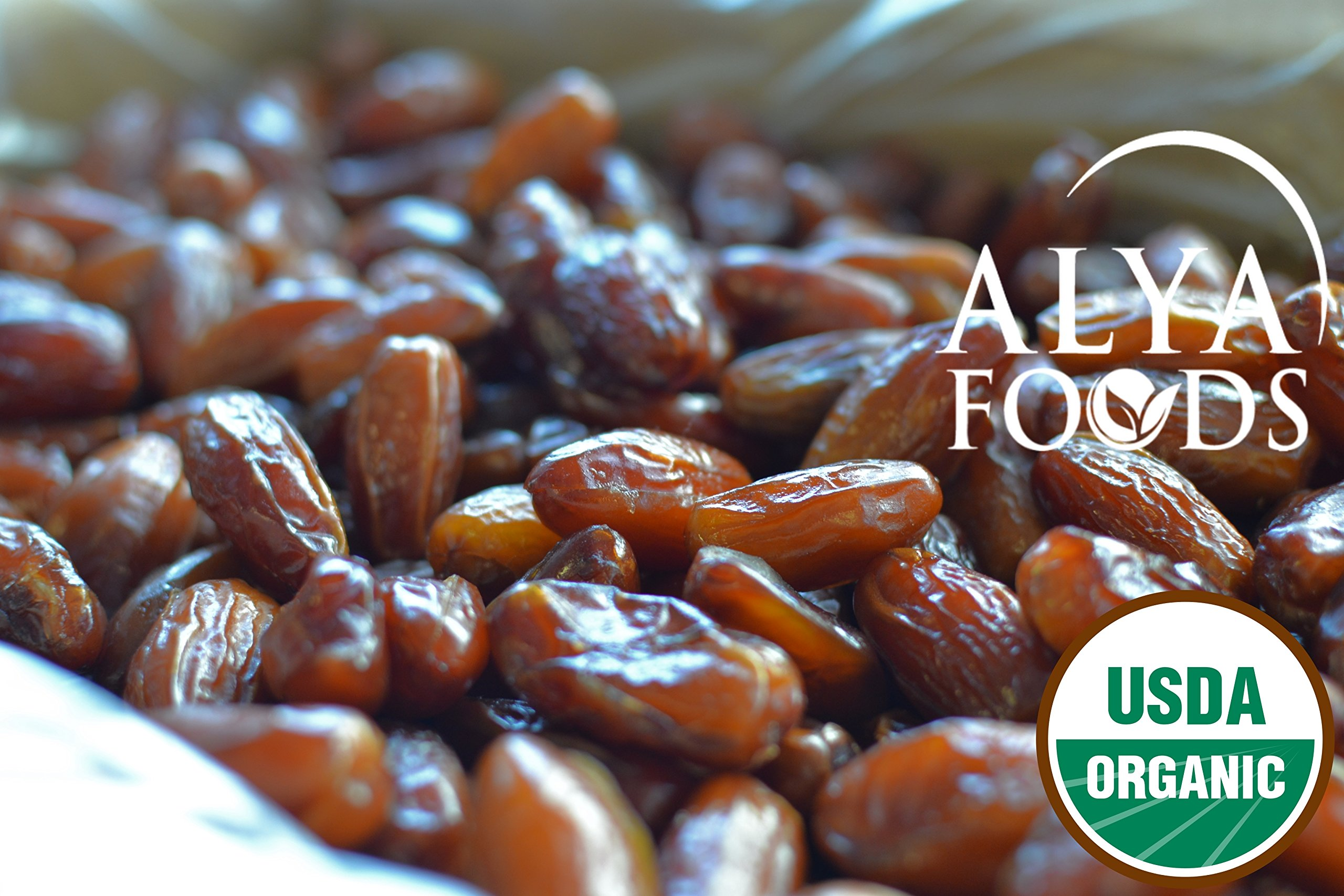 Organic Dates, Pitted, Deglet Noor (19.8 lbs) by ALYA (Image #2)