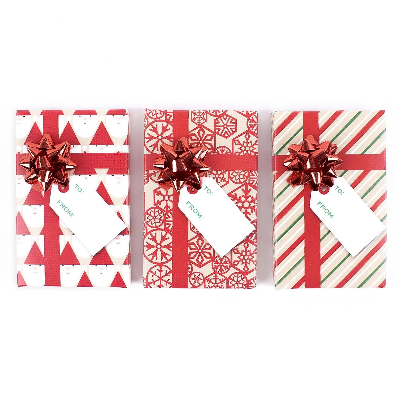 Hallmark Gift Card Holders, Green Ribbon (Pack of 6) 5BCM1099
