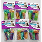6-Pack Ethical Pet Colorful Springs Cat Toys 10 Toys per Pack