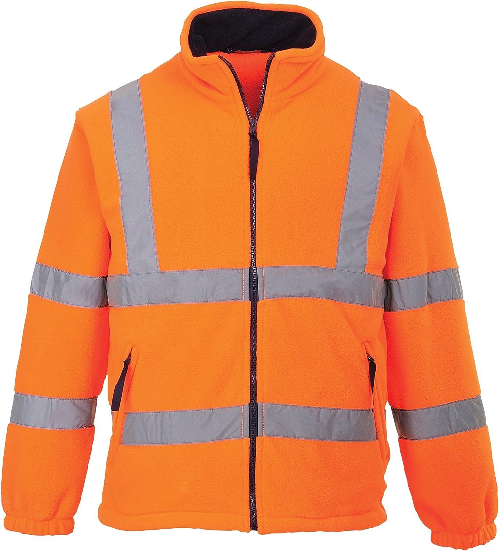 Portwest Hi-Vis Mesh Lined Fleece
