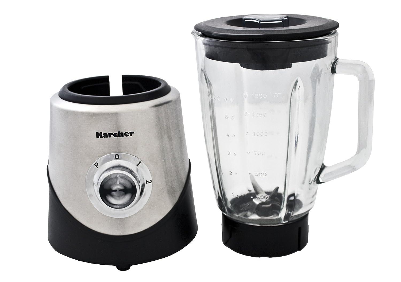 Karcher HM555 - Batidora de vaso de acero con vaso de cristal: Amazon.es: Hogar