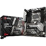 MSI Intel X299 TOMAHAWK AC Chipset LGA 2066 DDR4 SDRAM Motherboard - Black