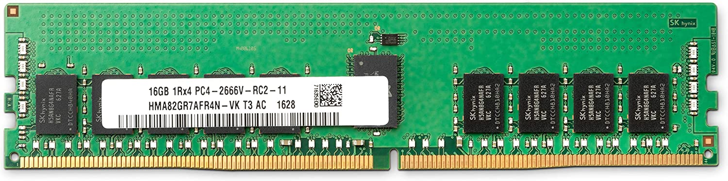 HP 16GB DDR4 SDRAM Memory Module - 16 GB - DDR4 SDRAM - 2666 MHz DDR4-2666/PC4-21333 - ECC - Unbuffered - 260-Pin - SODIMM