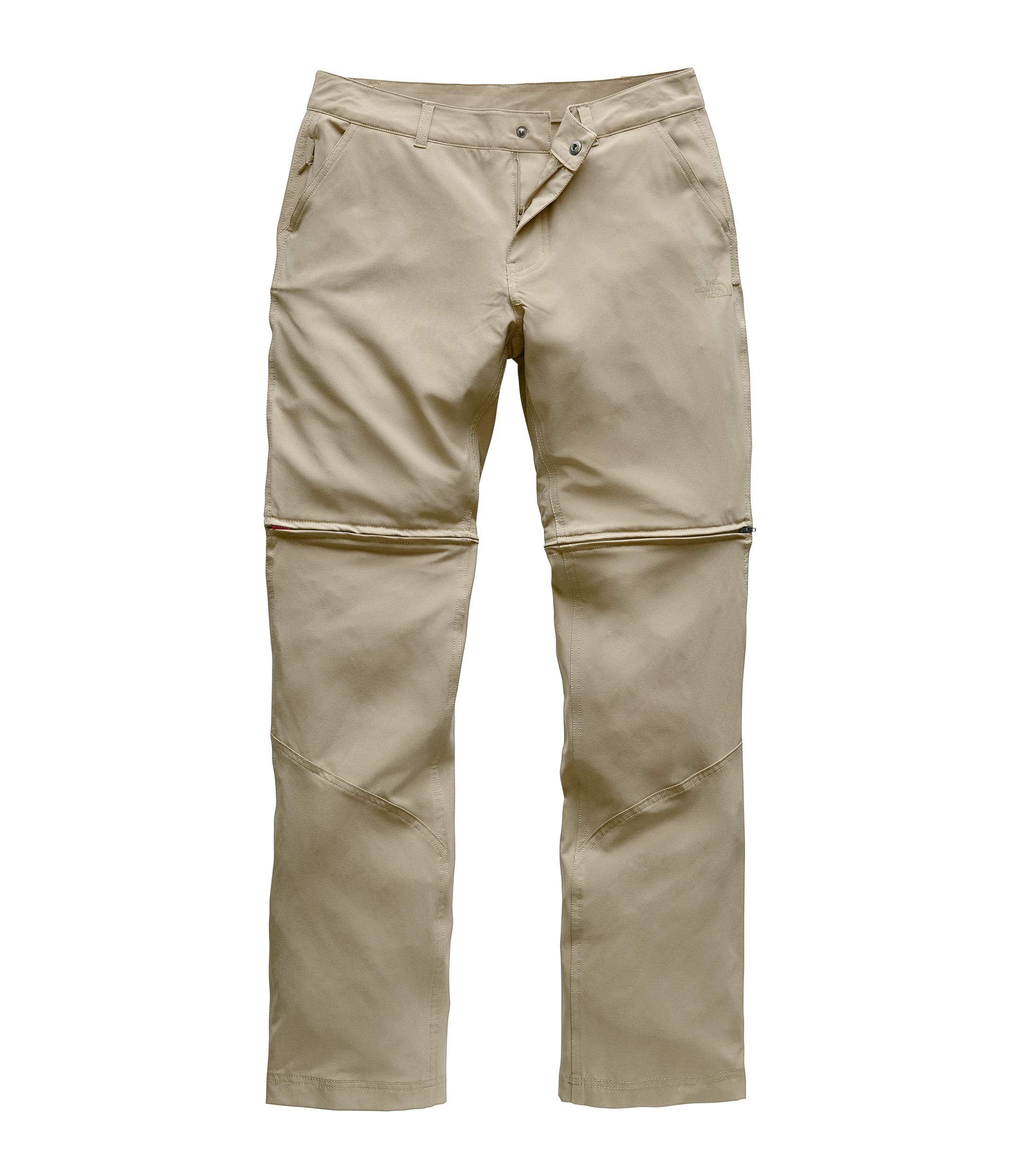 The North Face Women's Paramount Convertible Pant, Dune Beige, Size 8 Long