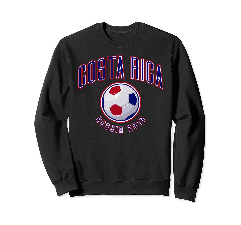 Costa Rica Soccer Sweatshirt 2018 Russia World Futbol Team-alottee ... d5dacd795