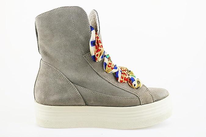 2 STAR Sneakers/Basket mode Femme 40 EU Beige Daim AG11 1Gljfe5E6
