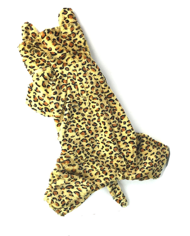 Leopard Big Dog Costume by Midlee (Big Dog Medium)