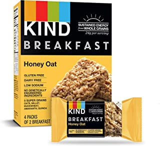 product image for KIND Breakfast Bars, Honey Oat, Gluten Free, 1.8 Ounce, 32 Count