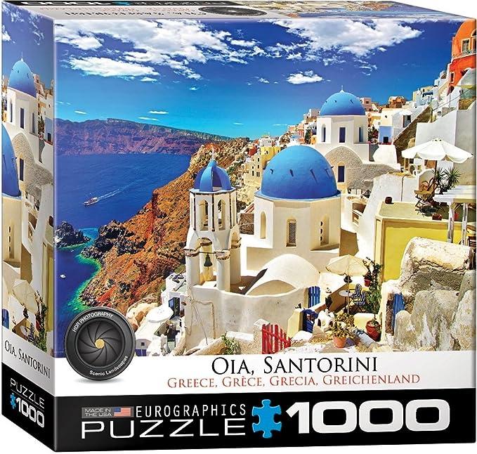 Eurographics 8000-0944 Oia Santorini - Puzzle (1000 Piezas ...