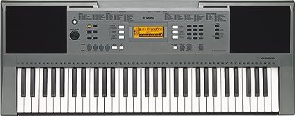 yamaha psr e353 61 keys portable keyboard with adaptor grey rh amazon in Ritmos Para Teclados Yamaha Bajo Yamaha