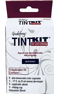 Amazon.com : Godefroy Instant Eyebrow Tint Permanent Eyebrow Color ...