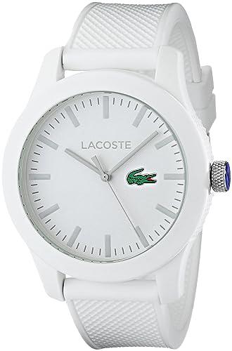 Amazon.com: Lacoste, 201076212.12 reloj de pulsera ...