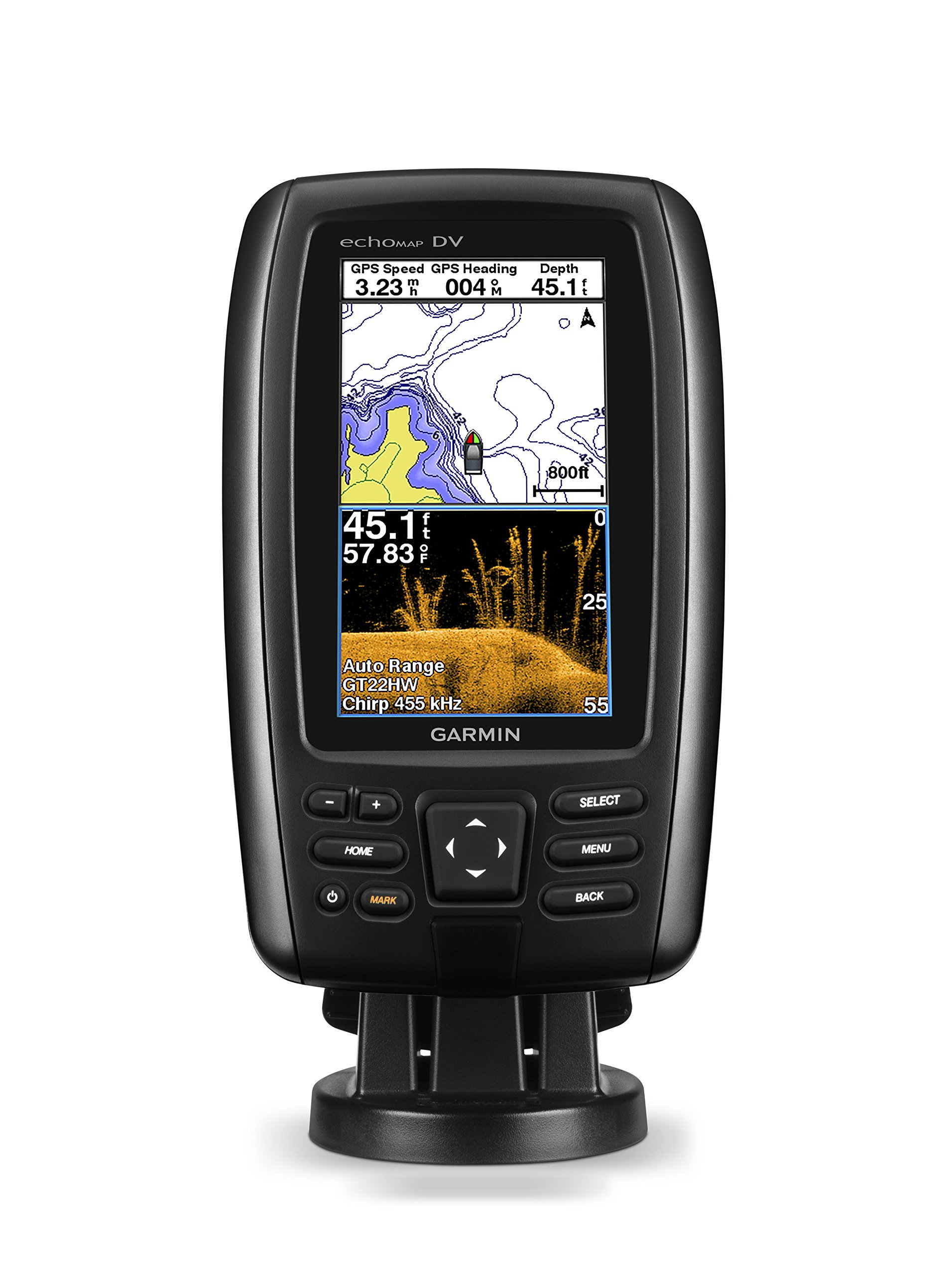 Garmin echoMAP CHIRP 43dv with transducer