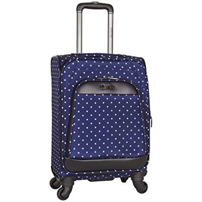 "Kenneth Cole Reaction Dot Matrix 20"" Lightweight Expandable 4-Wheel Spinner Carry-On Luggage"