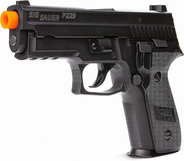 Amazon Com Sig Sauer Proforce P229 Green Gas Airsoft Pistol Sports Outdoors