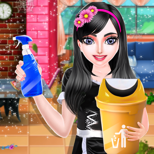 Dream House Cleanup Girl Home Cleaning