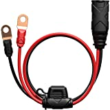 NOCO GC002 X-Connect M6 Eyelet Terminal Accessory for NOCO Genius Smart Battery Chargers,Black/Red