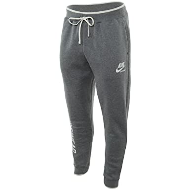 19ad502d35e5 Nike mens M NSW JOGGER FLEECE ARCHIVE 923484-092 2XL - CARBON  HEATHER CARBON HEATHER SAIL at Amazon Men s Clothing store