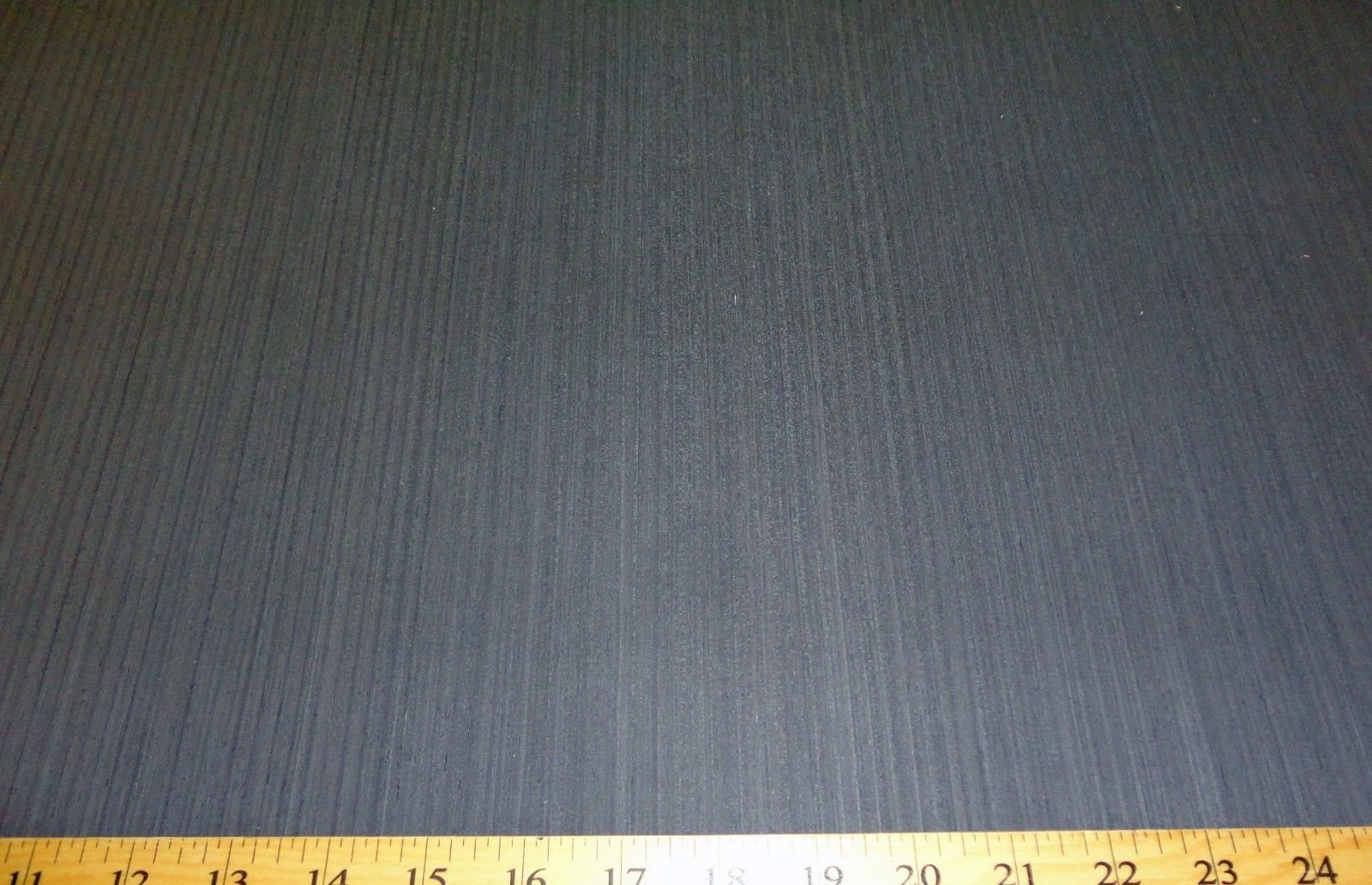 Black Gray Ebony composite wood veneer 48'' x 96'' with wood backing 1/25th''