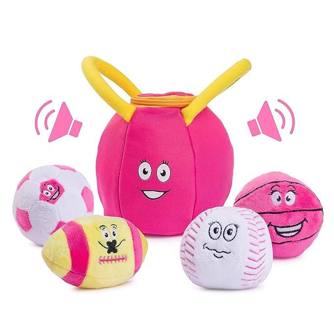 Amazon.com: Juguete deportivo para bebés, bolsa de deporte ...