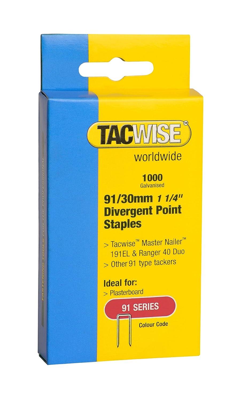 Tacwise 0289 Punti 91 Compatibile con 191EL Duo 35 e Duo 50