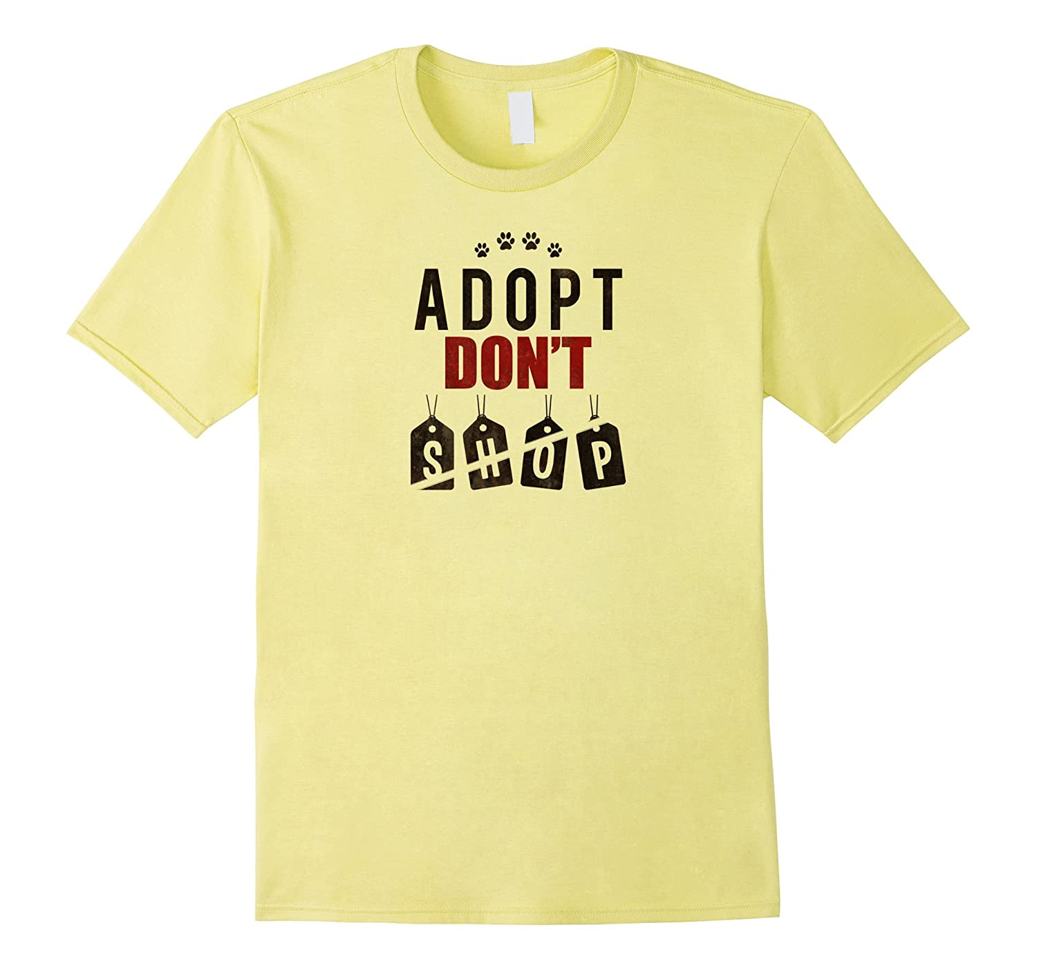 Adopt Don't Shop t-shirt, dog advocate, dog shelter, rescue