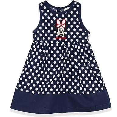 b8240eff55b60 Ensemble 2 pi裥s robe et bloomer en coton b颩 fille - 12 mois - Bleu Marine   Amazon.fr  Vêtements et accessoires